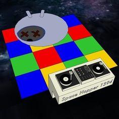 Attyk - Space Hopper 1394 (Acid/Electronica) (2014) #Music #HipHop #Acid #Production #AcidHouse #AcidHop 2014 Music, Acid House, Edm, Soundtrack, Hiphop, Techno, Playing Cards, Space, Floor Space