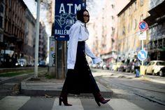 Milan Fashion Week Fall 2017 Street Style Day 5 - The Impression
