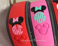 Monogrammed Disney Magic Bands
