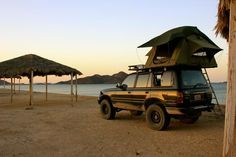 Land Cruiser Of The Day! – Enter the world of Toyota Land Cruisers Land Cruiser 80, New Toyota Land Cruiser, Toyota 4x4, Toyota Trucks, Nissan Patrol, Roof Top Tent, Expedition Vehicle, Tent Camping, Offroad