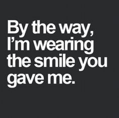 By the way, I'm wearing the SMILE you gave me..www.prodental.com#smile