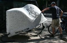 The various markets and usage for the BikeLid bike storage pod. Bike Storage Pod, Storage Pods, Outdoor Bike Racks, Parking Solutions, Bike Components, Bike Parking, Commuter Bike, Storage Solutions, Bicycle