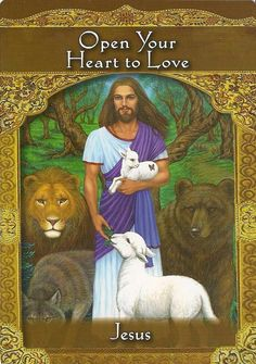 Ascended Masters 3 card oracle reading -pdf - Multifaith healing from Jesus Kwan Yin & other teachers