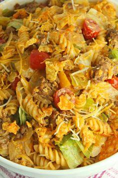 14 Essential Taco Recipes that Aren't Actually Tacos Taco Salad Recipes, Taco Salads, Mexican Food Recipes, Pasta Recipes, Ethnic Recipes, Mexican Drinks, Cucumber Recipes, Mexican Dishes, Dinner Recipes