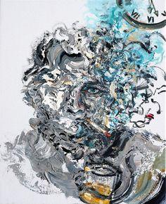 Self Portrait 2011 by Maggi Hambling on Curiator, the world's biggest collaborative art collection. Maggi Hambling, Selfies, Self Portrait Art, Art Alevel, Digital Museum, A Level Art, Identity Art, Collaborative Art, Art Uk