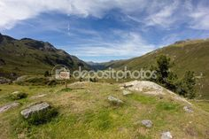 Fluelapass View In Davos Graubuenden Switzerland In Summer Davos, Land Scape, Photo Library, My Images, Switzerland, Hiking, Outdoor, Stock Photos, Vacation