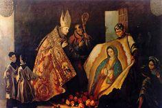 No dia 9 de dezembro de 1531, na cidade do México, o índio Quauhtlatoatzin — batizado como Juan Diego — viu Nossa Senhora.