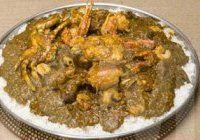 Supukanj (soupe kandia) (riz à base de sauce au gombo, huile de palme et légumes)