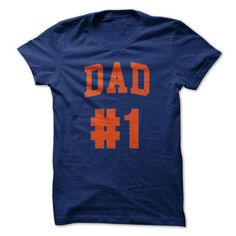 #1 Dad Fathers Day T-Shirt - Hot Trend T-shirts