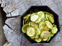 101 Dehydrator Recipes: Zucchini Chips | Nourishing Treasures