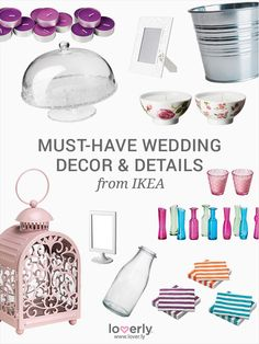 The best wedding products from IKEA | Lover.ly