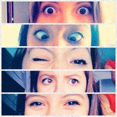 My eyes !