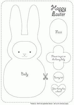 feeling stitchy: make your own easter bunny