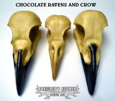 Animal chocolates - Welcome to the Conjurer's Kitchen.com - edible chocolate skulls