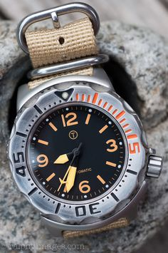 Modded Seiko Monster gorgeous divers watch…