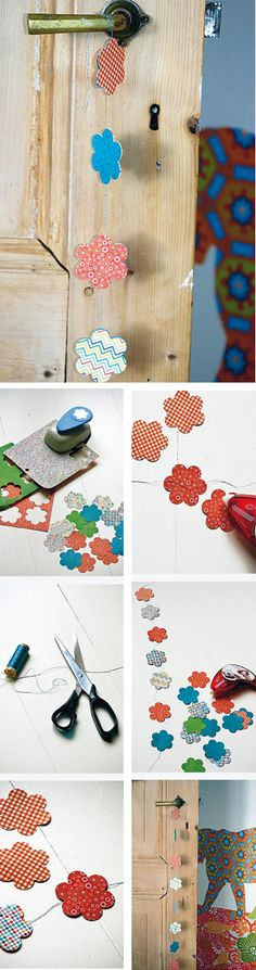 Papieren slingers zijn niet alleen eenvoudig zelf te maken, maar ook nog eens een mooie decoratie voor je huis!