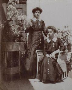 Grand Duchess Olga Nikolaevna Romanova of Russia & Grand Duchess Tatiana Nikolaevna