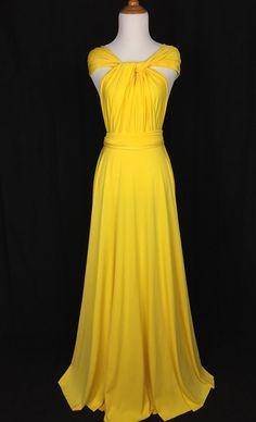 Sweet heart Wrap Convertible Infinity Dress by ScholleDress
