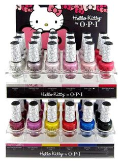 HELLO KITTY by OPI 2016