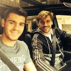 Alvaro Morata & Fernando Llorente