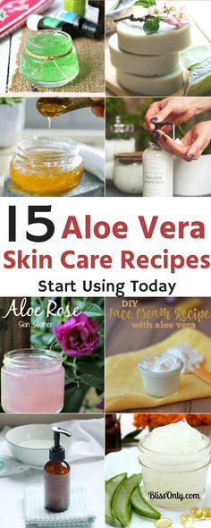 Try these 15 aloe vera gel for skin care and get your acne, scars, dark spots and other various skin conditions treated