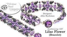 Lilac Flower Bracelet Tutorial