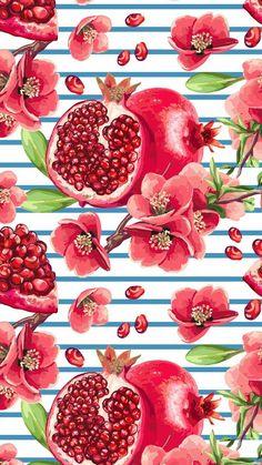 New wall paper watercolor iphone desktop backgrounds Ideas Summer Wallpaper, Modern Wallpaper, Flower Wallpaper, Pattern Wallpaper, Cool Backgrounds, Phone Backgrounds, Wallpaper Backgrounds, Wall Paper Phone, Deco Boheme