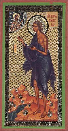 Orthodox icons, Byzantine icons, Greek icons - Religious icons: Holy Venerable Mary of Egypt Orthodox Catholic, Orthodox Christianity, Religious Icons, Religious Art, St Mary Of Egypt, Greek Icons, Christian Friends, Byzantine Icons, Orthodox Icons