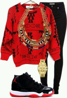 Bred 13's outfit