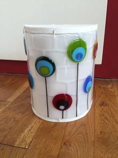 fused glass lamp - Paula Ragas