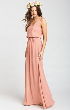 Kendall Maxi Dress ~ Rustic Mauve  | Show Me Your Mumu