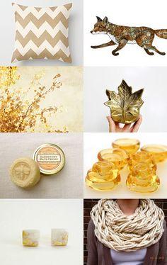 Gold Fall Treasury--Pinned with TreasuryPin.com