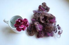 Wool nepps blend by woolpleasure on Etsy, $6.00