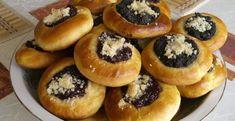 1024px-kolacky-845x435 Pastry Recipes, Cookie Recipes, Kolaczki Cookies Recipe, Polish Kolaczki Recipe, Czech Recipes, Slovak Recipes, Bread Machine Recipes, Dough Recipe, Filling Recipe