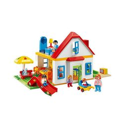 Playmobil 123 Family House with Slide