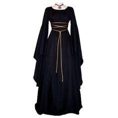 Medieval Dress found on Polyvore 1800 Fashion