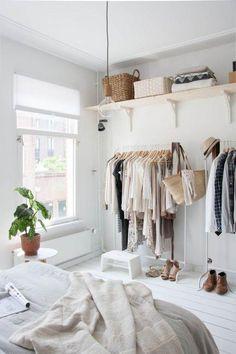prateleiras para decorar o closet