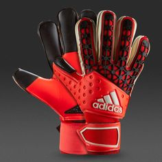 View and buy the adidas Ace Zones Finger Save GK Gloves - Solar Red/Bold Orange/Black adidas Ace at Pro:Direct SOCCER. Adidas Ace, Black Adidas, Adidas Predator, Keeper Gloves, Goalie Gloves, Man Purse, Sports Uniforms, Football Kits, Goalkeeper