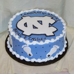 unc cake images | North Carolina Tarheels/be a great birthday cake for my MJ.
