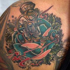 Custom tattoo.