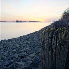 Hamburg Elbstrand bei Sonnenuntergang - https://www.instagram.com/p/BVo4AdGh6Ew/ Aufgenommen von meinem Mitbewohner :) #hamburg #elbstrand #sonnenuntergang #sundown #ship #schiffe #ilovehamburg #beautiful #elbe