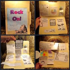 Rock Lap book#Repin By:Pinterest++ for iPad#