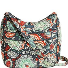 Women's Cross-Body Handbags - Vera Bradley Womens Carryall Crossbody Nomadic Floral Cross Body * To view further for this item, visit the image link.