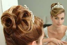 penteado de princesa com franja - Pesquisa Google