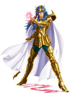 Saint Seiya - Gold Saint Scorpio Milo My Fantasy World, Fantasy Male, Game Character, Character Design, Sailor Moon, Knights Of The Zodiac, Dragon Z, Anime Kawaii, Good Manga