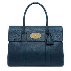 MULBERRY Bayswater lambskin leather handbag