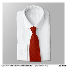 Signature Red Ombre Diamonds MD Pattern Necktie. Signature Red Ombre Diamonds Necktie. Men's Neckties. Fashion. Men's Fashion. Designer Ties. Neckties. Browse the Corbin Henry Signature Collection by clicking the link above. #neckties #DesignerNeckties