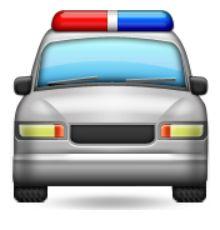 en sens voiture de de la police moticnes iphone emoji choses coque sens inverse shell car