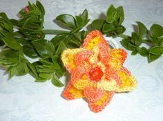 Niedliche Haarblüte mit Gummi nach Wahl von Shop Kunterbunt auf DaWanda.com