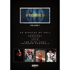 Sec Storied Volume 1 (4 Films - 2-discs) Herschel Play The Changed College Football 40 Minutes Of